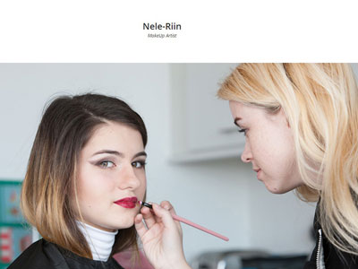 Nele-riin Front Page